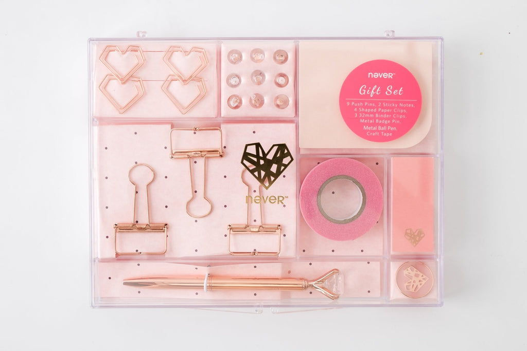Rose Gold Stationery