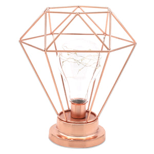 Chic Geometric Table Lamp