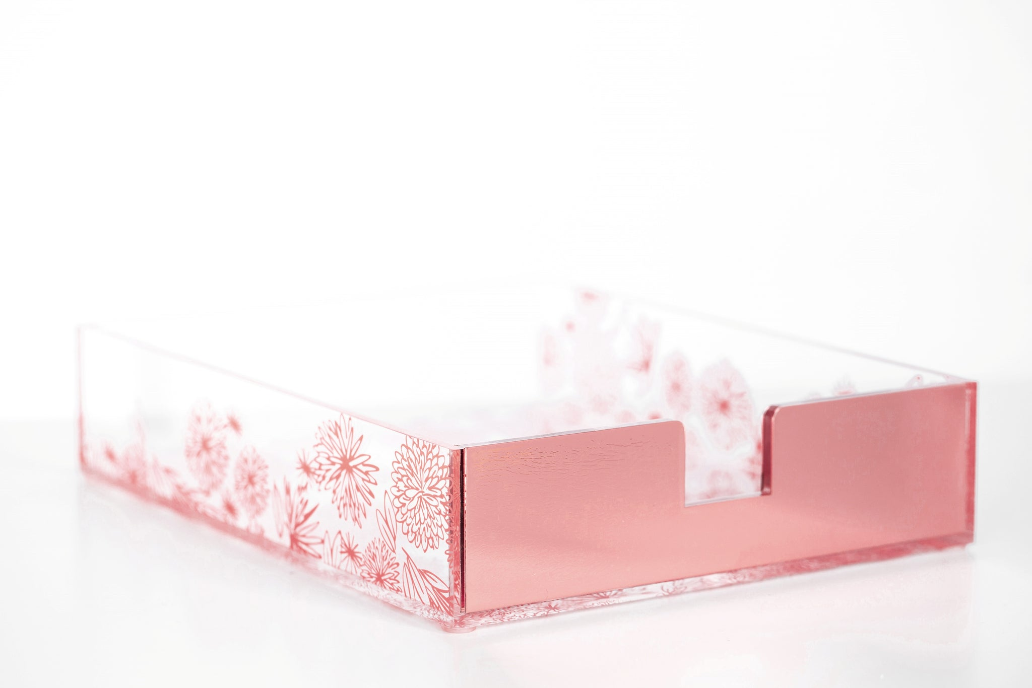 Rose Gold Desk Organizer Set