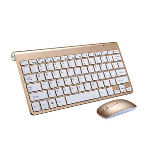 Ultra Slim 2.4GHz Wireless Keyboard With Mouse