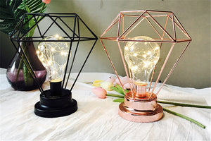 Chic Geometric Table Lamp - Dress My Desk