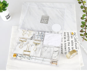 Marble Stationery Set - Dress My Desk