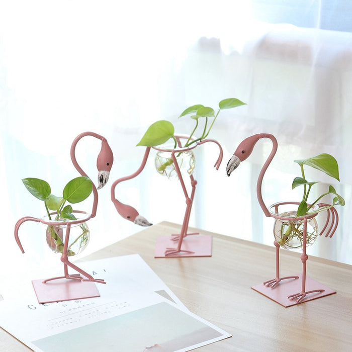 Flamingo Desktop Planter