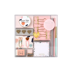 Dainty Stationery Kit with 16 Items