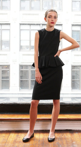 Celine Peplum Dress