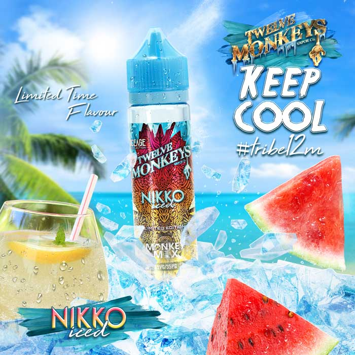 Nikko Iced de Twelve Monkeys Ice Age | E-Líquido 50ml