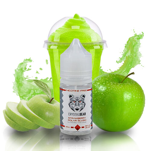Black Apple Polar Slush de Crystal Bear | E-Líquido 25ml