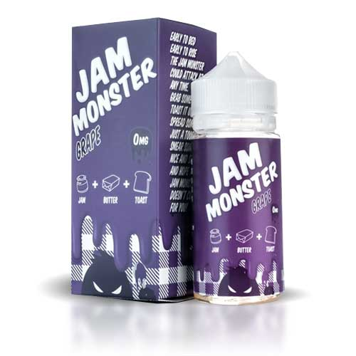Jam Monster Grape | E-Líquido 100ml