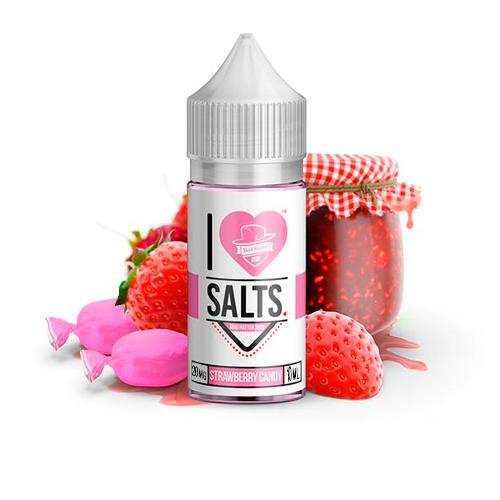 Strawberry Candy de Mad Hatter I love Salts | E-Líquido 10ml