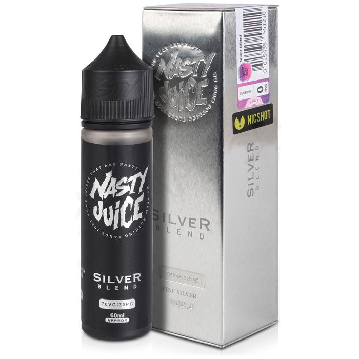 Silver Blend de Nasty Juice | E-Líquido 50ml