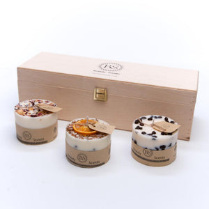 Gift Set of Small 3 Different Candles
