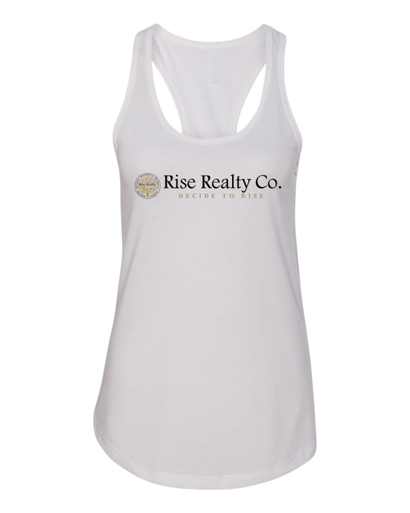 Rise Realty Co. Razor Back Tank