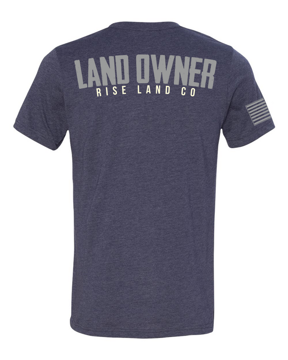 LAND OWNER - Unisex Short Sleeve Jersey Tee