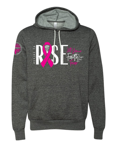 Unisex Hooded Pullover Sweatshirt - Decide To Rise