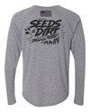 Triblend Long Sleeve Henley - SEEDS and Dirt