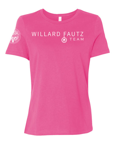 Ladies Crew Flowy Tee - WIllard Fautz Team