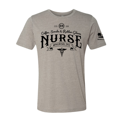Homes for Heroes Nurse Tee