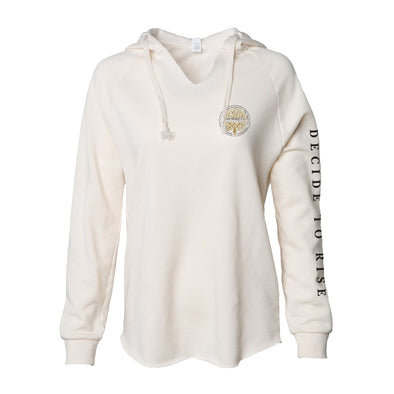 Rise Realty Logo'd Womens Hooded Pullover