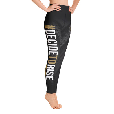 Decide to Rise Yoga Leggings