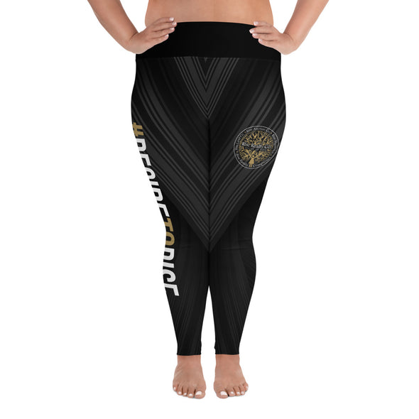 Decide to Rise Plus Size Leggings