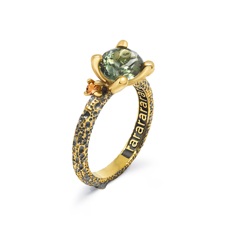 Grit Unique Ring with Zultanite & Citrine