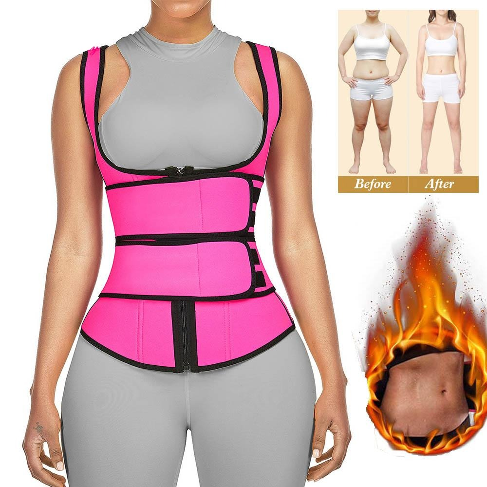 31205 Neoprene Sauna Workout Vest Waist Trainer - Valusu