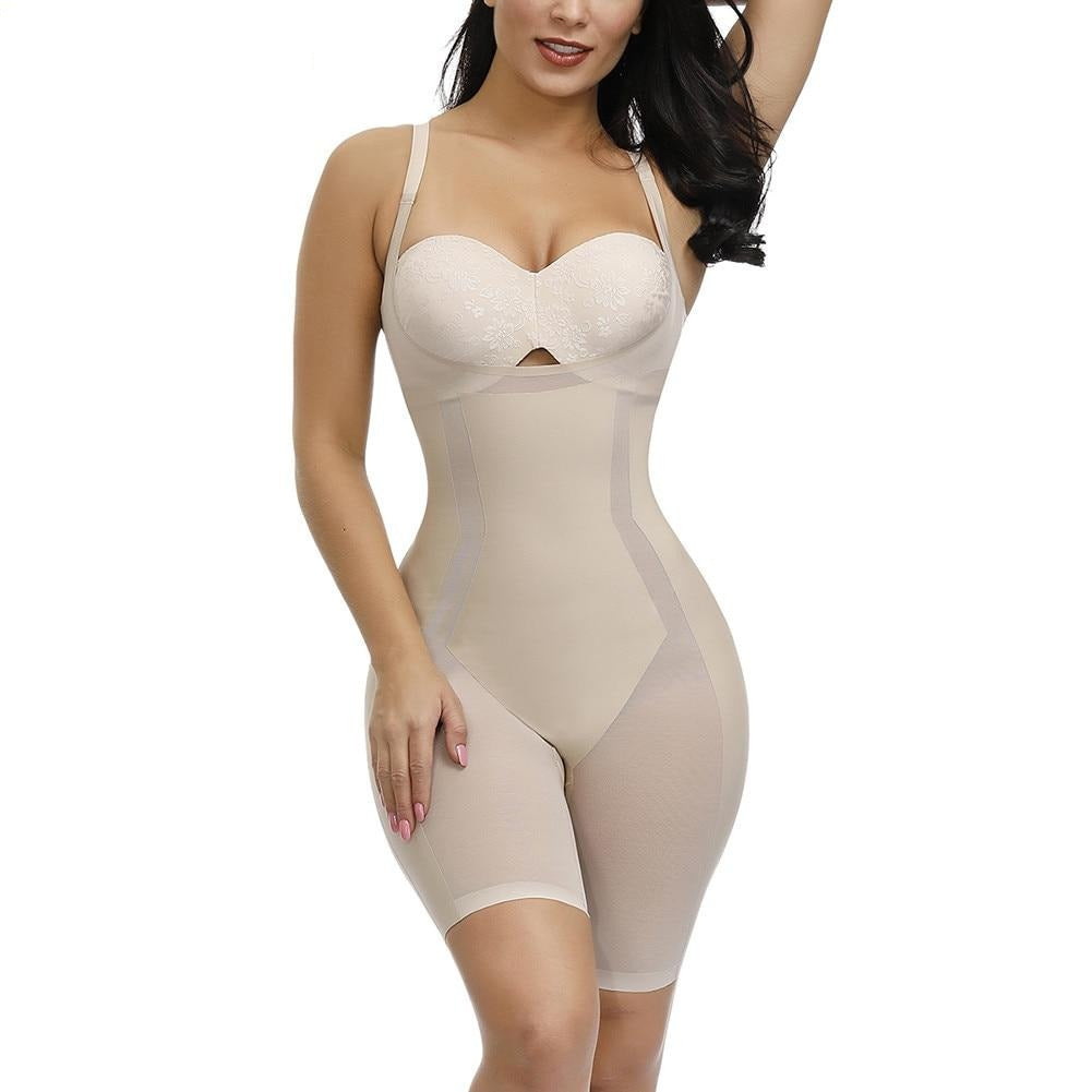 31205 Butt Lifter Hip Enhancer Firm Control Seamless Bodysuits - Valusu