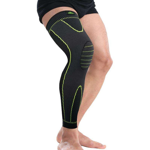 Safety 3D Knee Compression Pad Series 1.0 for Men and Women with Non-slip Bandage Strap - Valusu