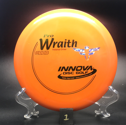 Wraith - Pro - Full Flight Stamp