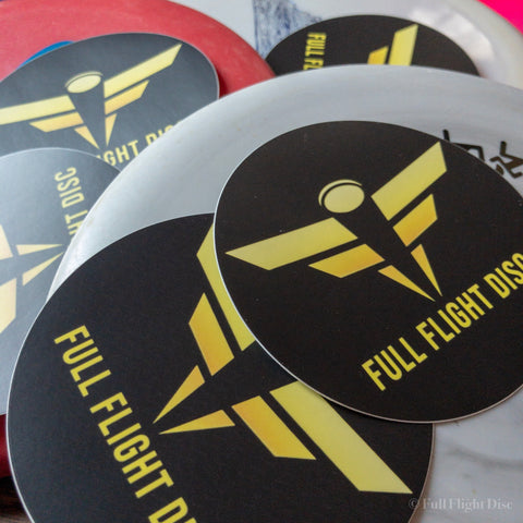 Full Flight Circle Sticker 3.5 inch