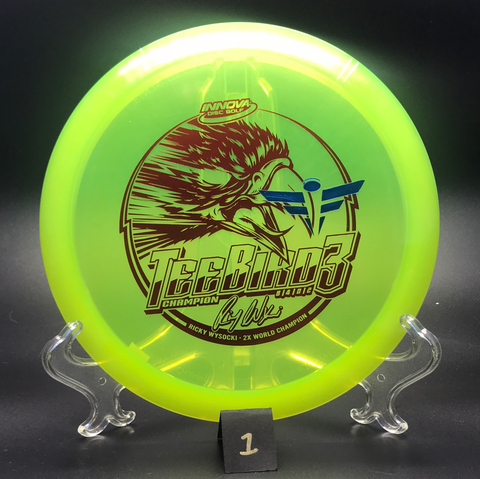 Teebird3 - Champion - Full Flight Stamp