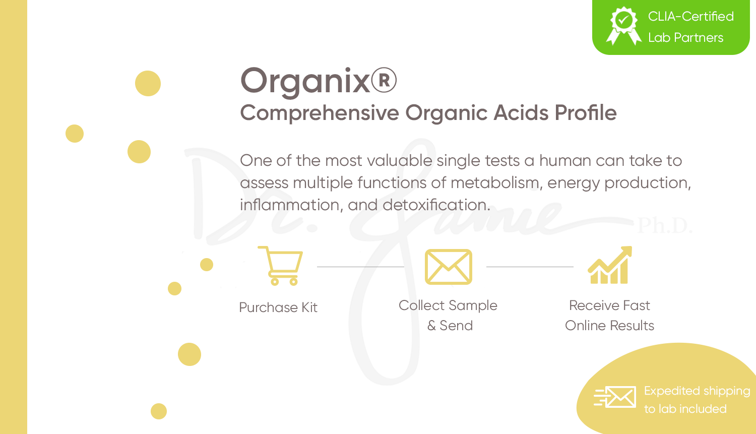 Organix® Comprehensive Organic Acids Profile