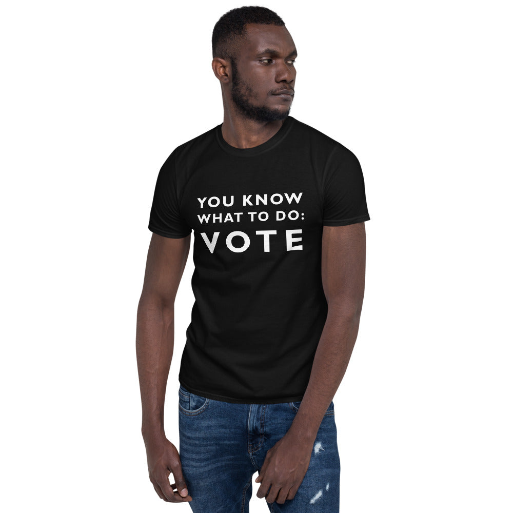 Vote Short-Sleeve Unisex T-Shirt - gobelight shop