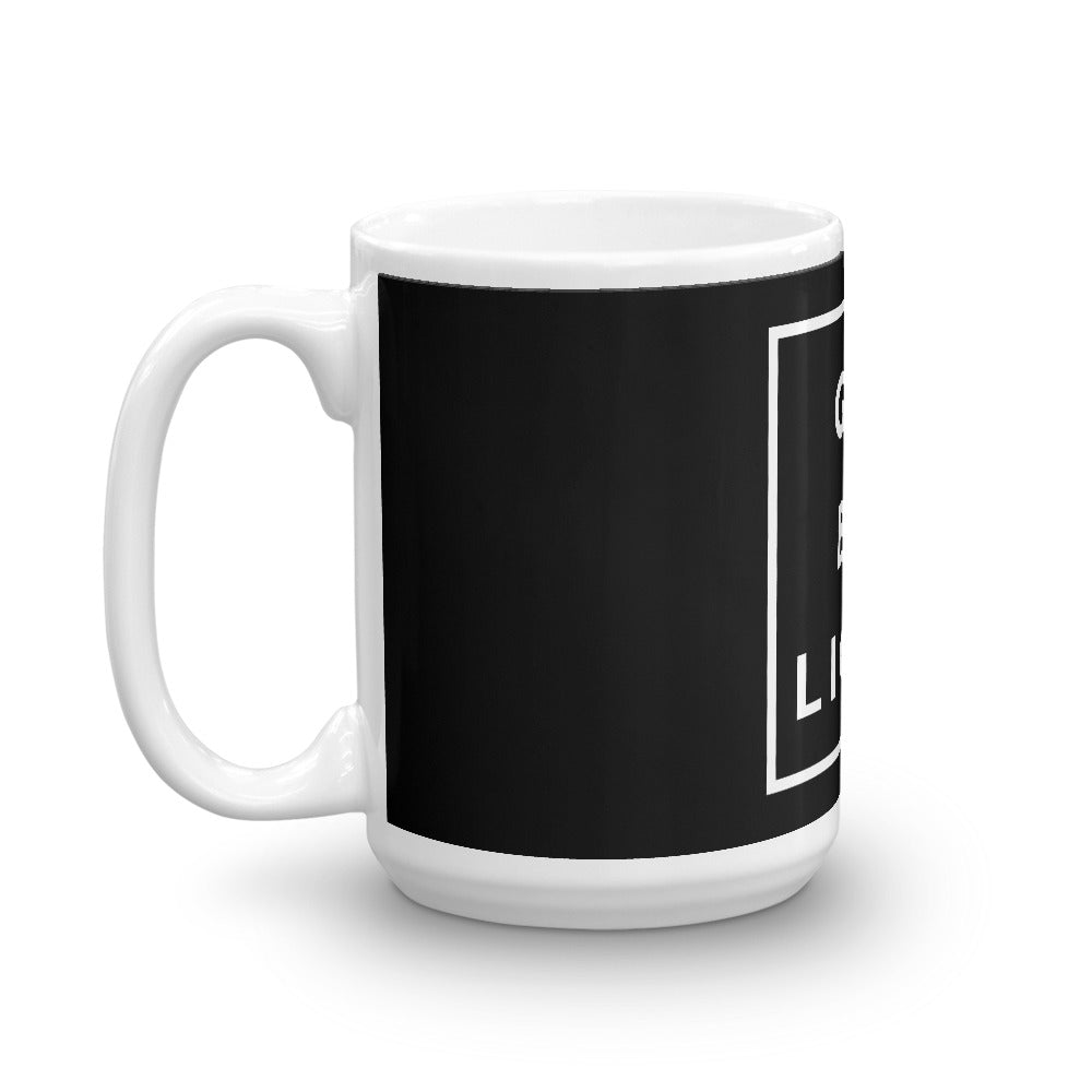 Go Be Light Mug 11 & 15 oz. - gobelight shop