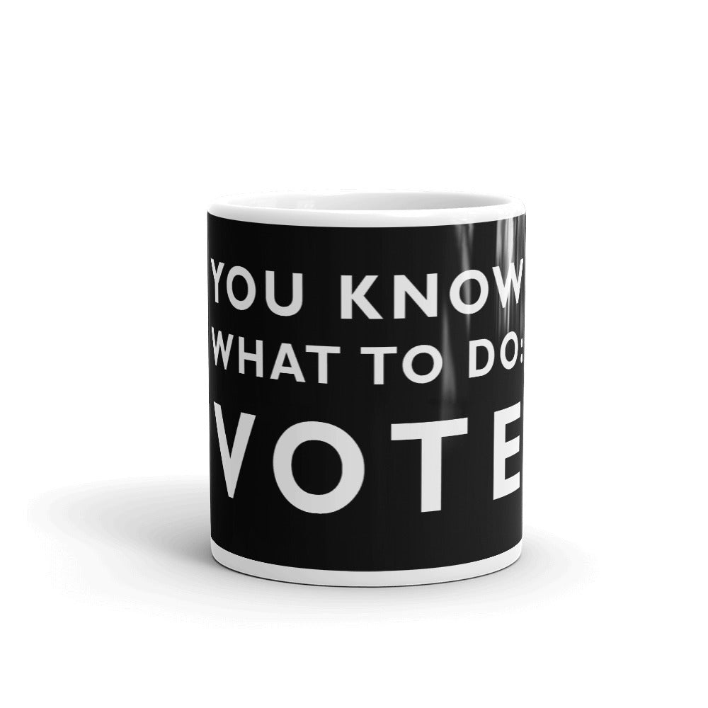 Vote Mug 11 & 15 oz. - gobelight shop