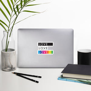 Love Love Love Sticker - gobelight shop