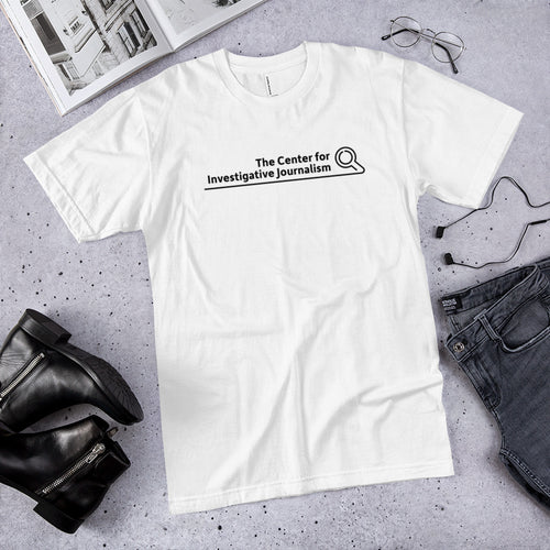 The Center for Inquisitive Journalism T-Shirt (American Apparel)
