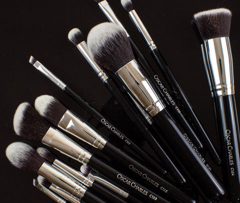 Oscar Charles Group of Vegan Makeup Brushes
