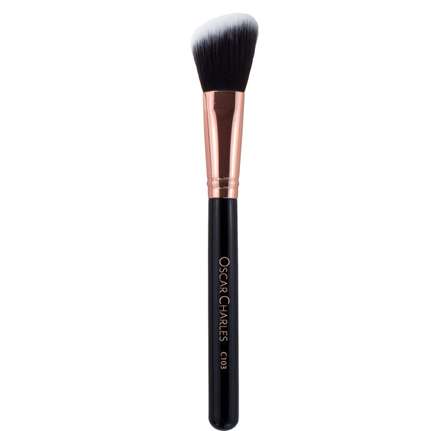 Oscar Charles 103 Luxe Angled Blush Makeup Brush