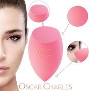 Oscar Charles Beauty Makeup Sponge for Blending Make up Foundation - 2 Pack