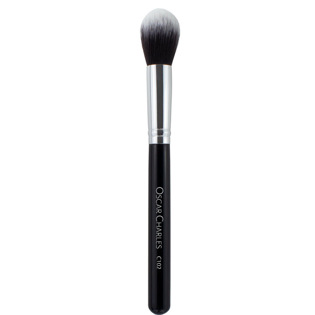 Oscar Charles 102 Luxe Contour Highlight Makeup Brush