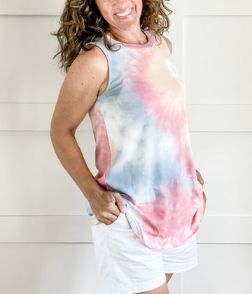 TIE DYE SUMMER TOP