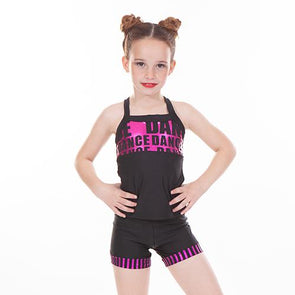 2 Piece Long Sets FOIL PINK DANCE WITH FOIL PINK STRIPE