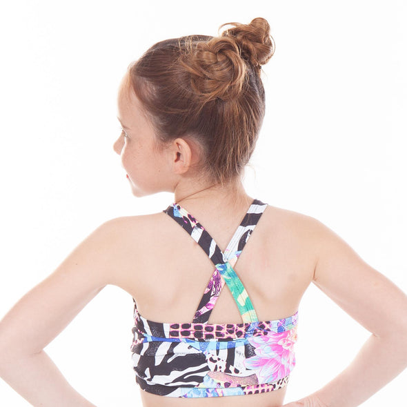 Crop Tops Print  JUNGLE THEME