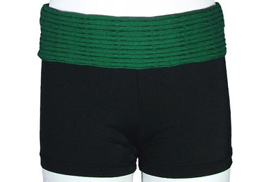 Textured Foldover Short