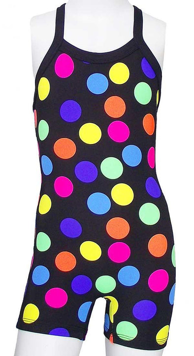 Bootitard MULTI COLORED POLKA DOT