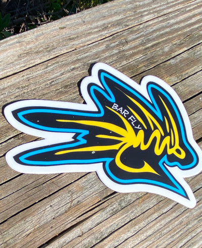 Bar fly brand logo sticker!!