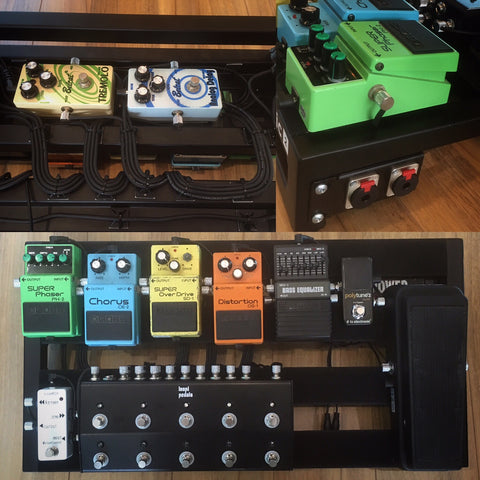 Boss Pedalboard build