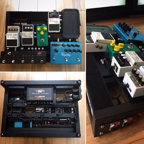 Sensai Pedalboard build