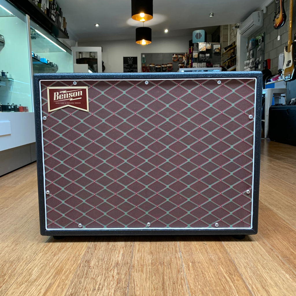 Benson Amps Monarch Reverb 1x12 Combo (Black Tolex with Vox/Dumble Grill Cloth)